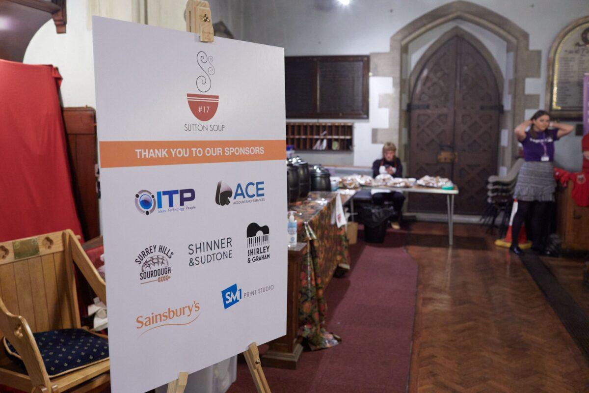 ITP Sponsor Sutton Soup